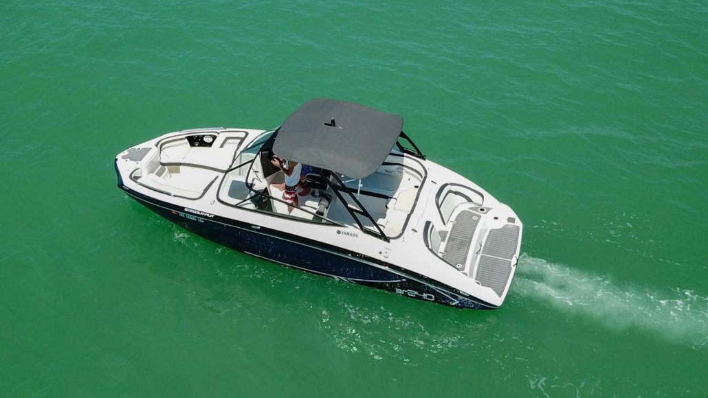 Yamaha jet Boat rental Cape Coral